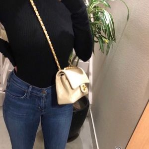 Authentic CHANEL Classic Small Beige Lambskin 2.55